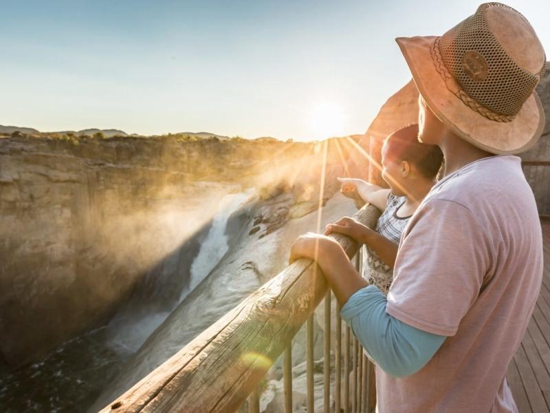 Augrabies Falls National Park Zuid-Afrika
