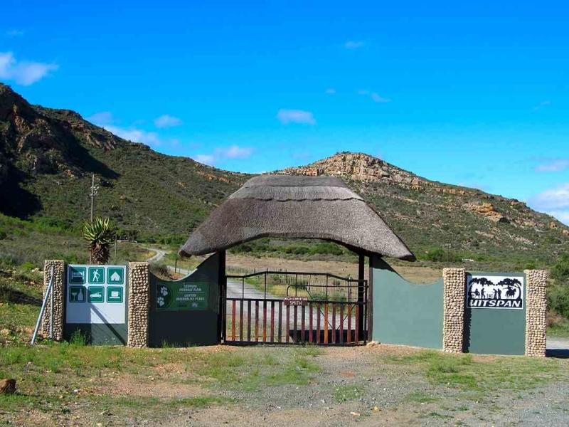 baviaankloof nature reserve entrance gate