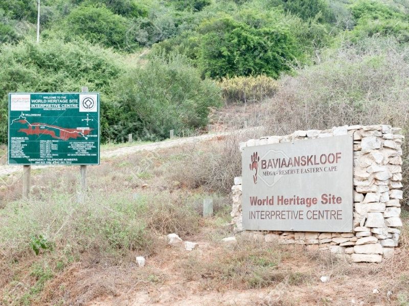 Baviaanskloof Oost Kaap Zuid-Afrika Sign Posts