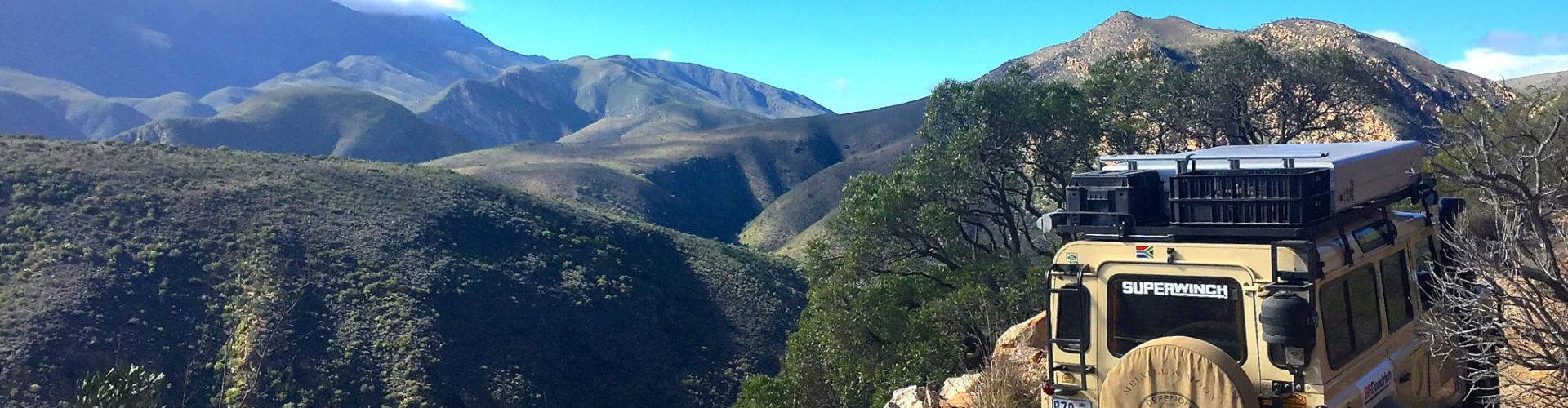 Baviaanskloof Oost Kaap Zuid-Afrika