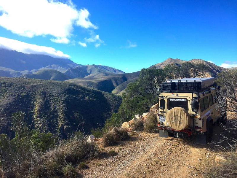 Baviaanskloof Oost Kaap Zuid-Afrika 4x4 vehicles