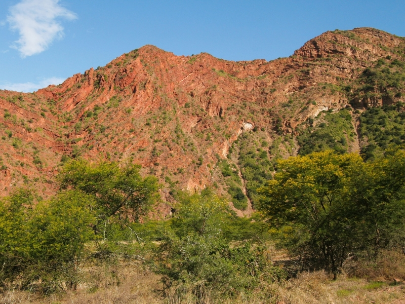 Baviaanskloof Oost Kaap Zuid-Afrika bergen