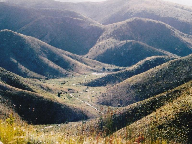 Baviaanskloof Oost Kaap Zuid-Afrika vallei