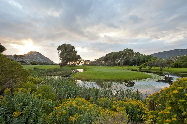 Clovelly Country Club Golfbaan Kaapstad Zuid-Afrika