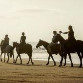 iSimangaliso Wetland Park Zuid-Afrika Paardrijden