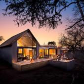 Safari in een safari lodge