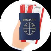 paspoort-en-vliegtickets