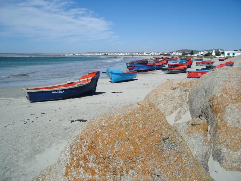 Paternoster West Coast Zuid-Afrika Visserdorp