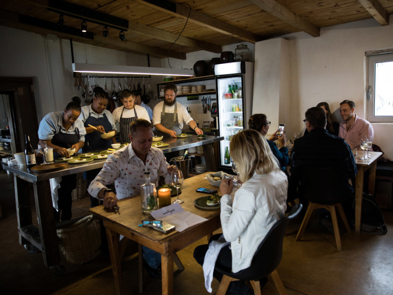 Paternoster West Coast Zuid-Afrika Wining & Dining
