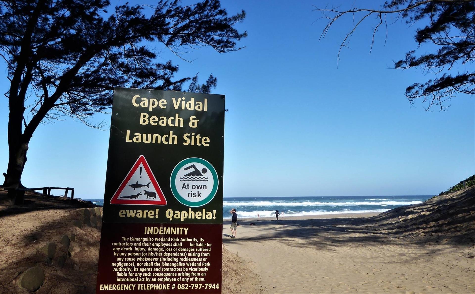 St. Lucia Zuid-Afrika Cape Vidal Beach
