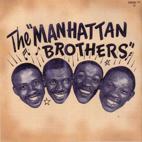 Muziek Zuid-Afrika - The Manhattan Brothers
