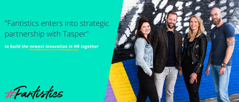 #Fantistics enters into a strategic partnership with Tasper.