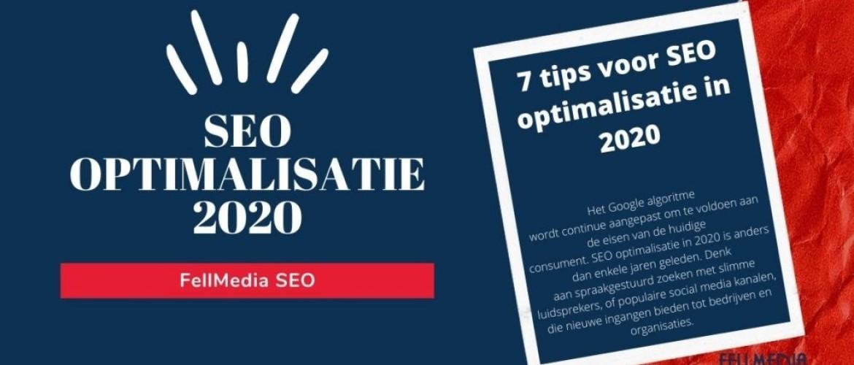SEO optimalisatie - 7 uitmuntende tips