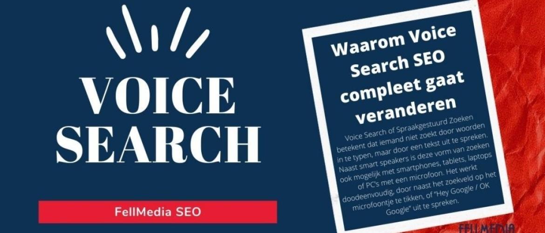 Waarom Voice Search SEO compleet gaat veranderen