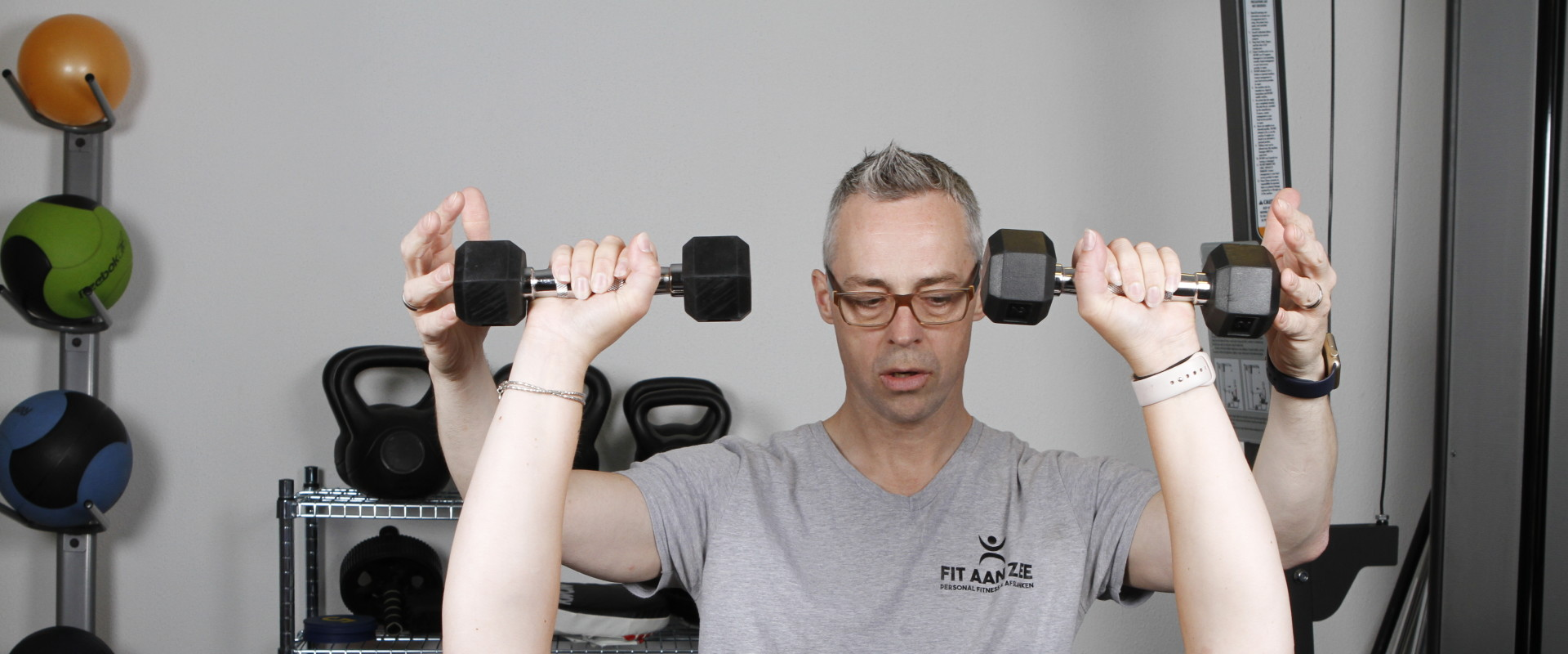 Personal trainer in Katwijk start afslankcursus