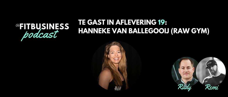 1.19 Hanneke van Ballegooij over het effect van silent fitness, het uurloon van trainers, het profiel van een goede trainer