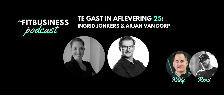 1.25 Ingrid Jonkers en Arjan van Dorp over o.a. ontwikkelingen, de FT CLUB franchise formule, ondernemen, boutique fitness
