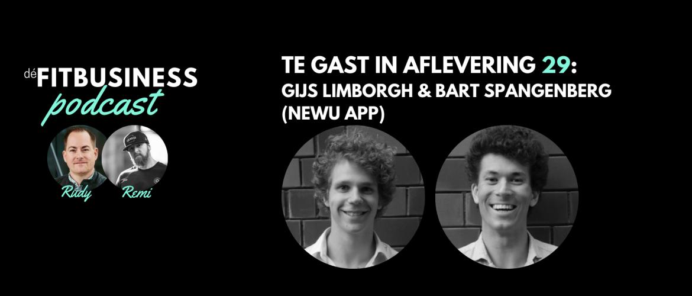 1.29: Gijs Limborgh en Bart Spangenberg over het bevorderen van gezonde gewoontes met een slimme app