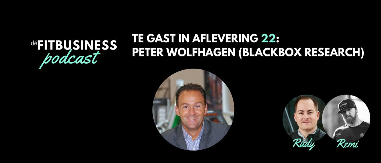 1.22 Peter Wolfhagen over klantgedrag, digitalisering, het bedrijfsmodel van fitnessclubs en meer!