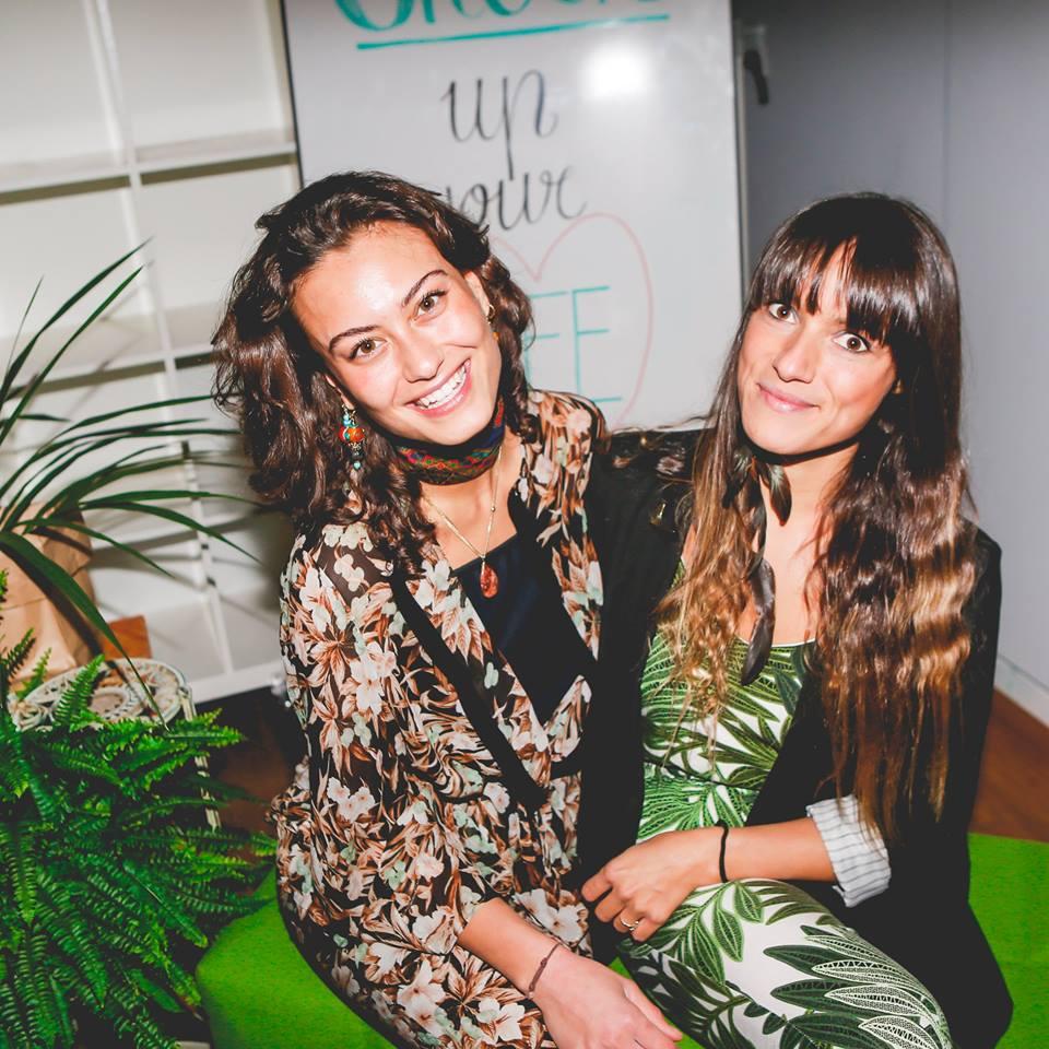 Emanuelle Vos en Elke Salverda Fitgirls