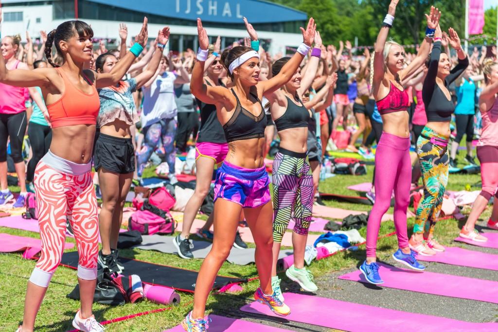 glamour health challenge fitgirls