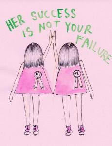 stop vergelijken fitgirls