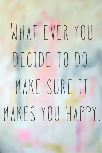 goede keuzes maken
