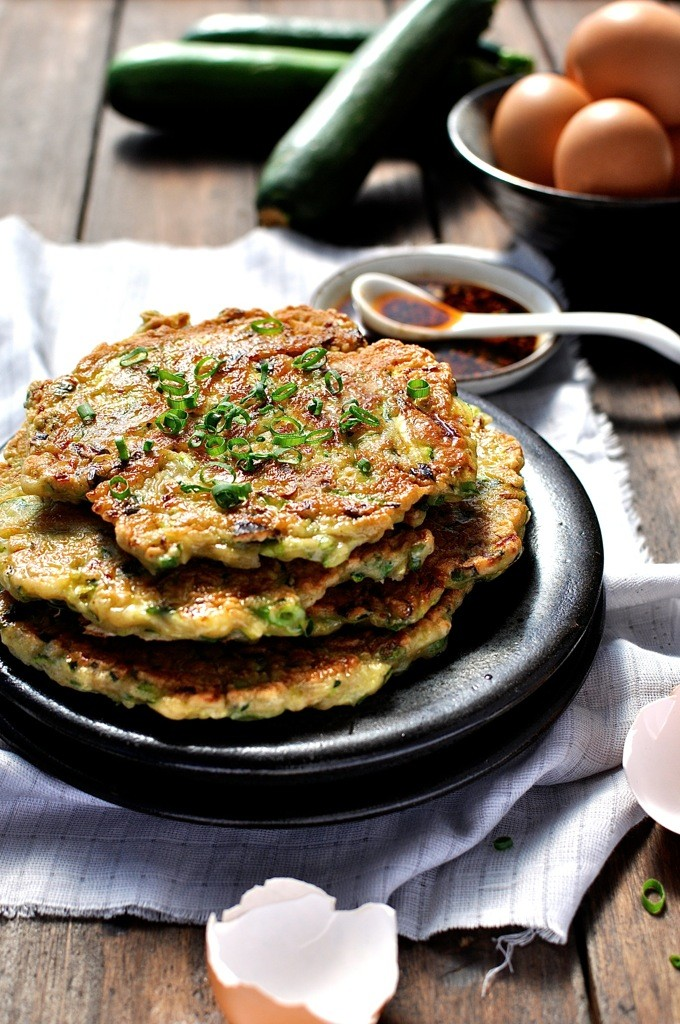 Chinese-Zucchini-Pancakes Fitgirls
