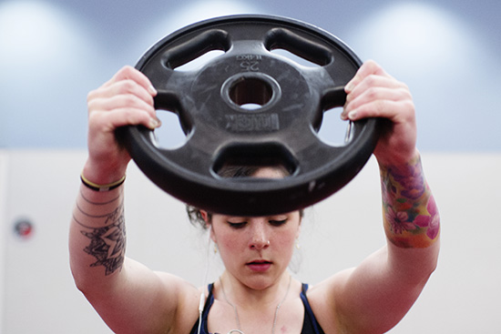 fitgirls not strong for a girl just strong