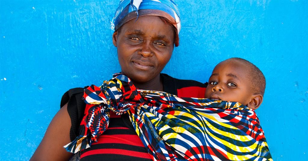 Moeder en kind Zambia Fitgirls