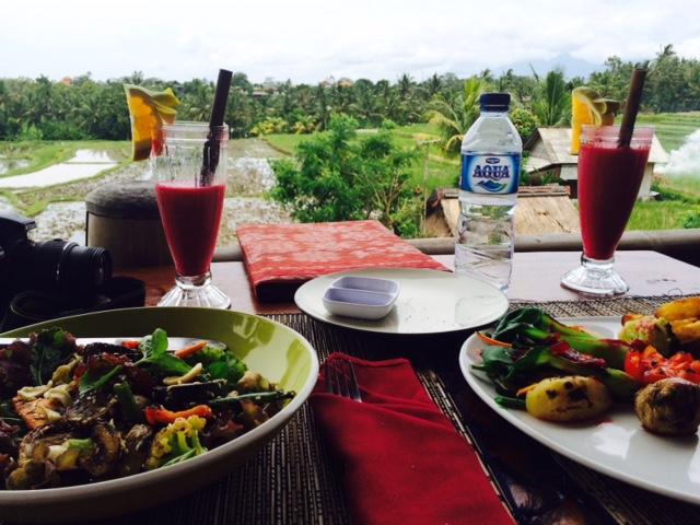 Organic lunch Kumara