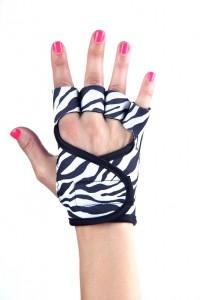 zebra black piping