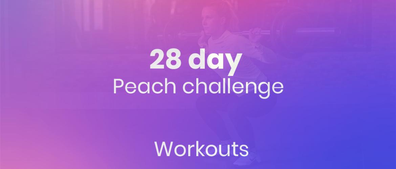 Peach challenge: hoe blijf je actief gedurende deze periode?