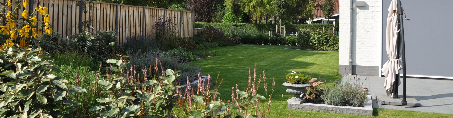 Mooie tuin