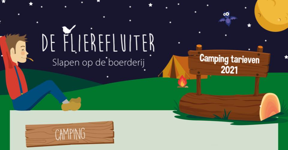 tarieven Flierefluiter camping