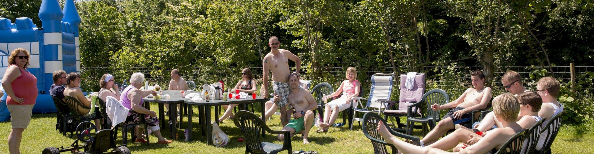 familiefeest of bijeenkomst in Raalte