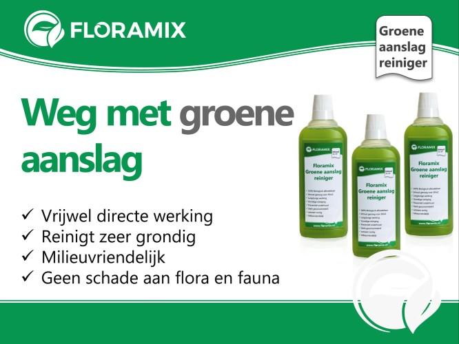 Floramix Buitenaanslag reiniger