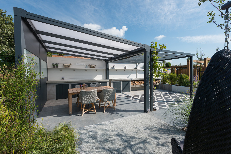 Vrijstaande terrasoverkapping aluminium | Vrijstaande overkapping