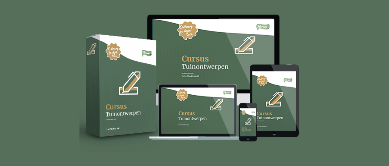 Cursus tuinontwerp: leer je eigen tuinontwerp maken (+ gratis bonussen!)
