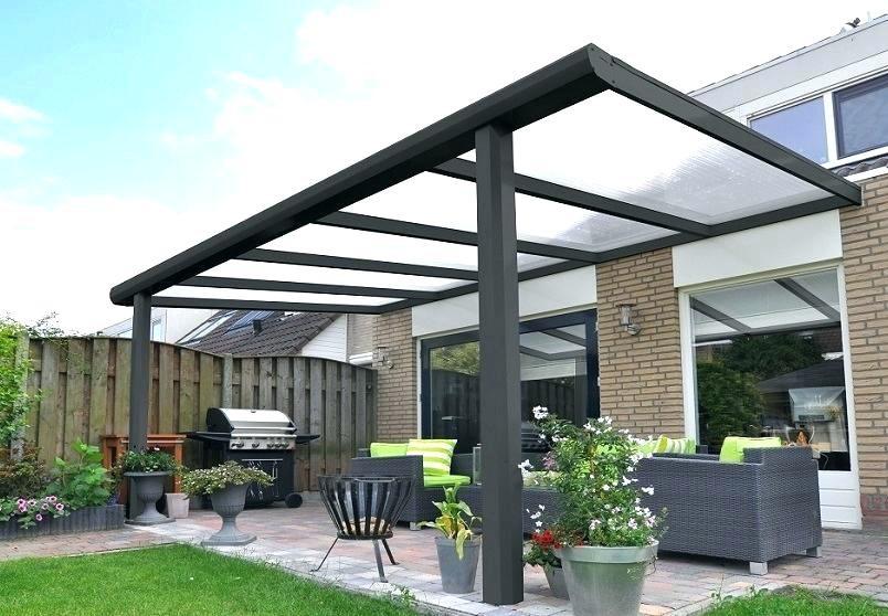 Aluminium veranda aan huis