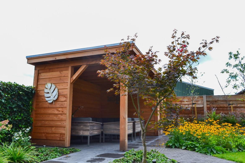 Vrijstaande terrasoverkapping hout | Vrijstaande overkapping