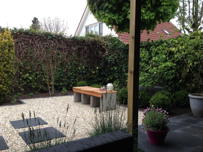 Tuin bestraten voorbeelden | Betontegels