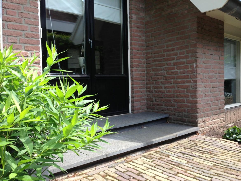 Voorbeelden bestrating achtertuin | Natuursteen