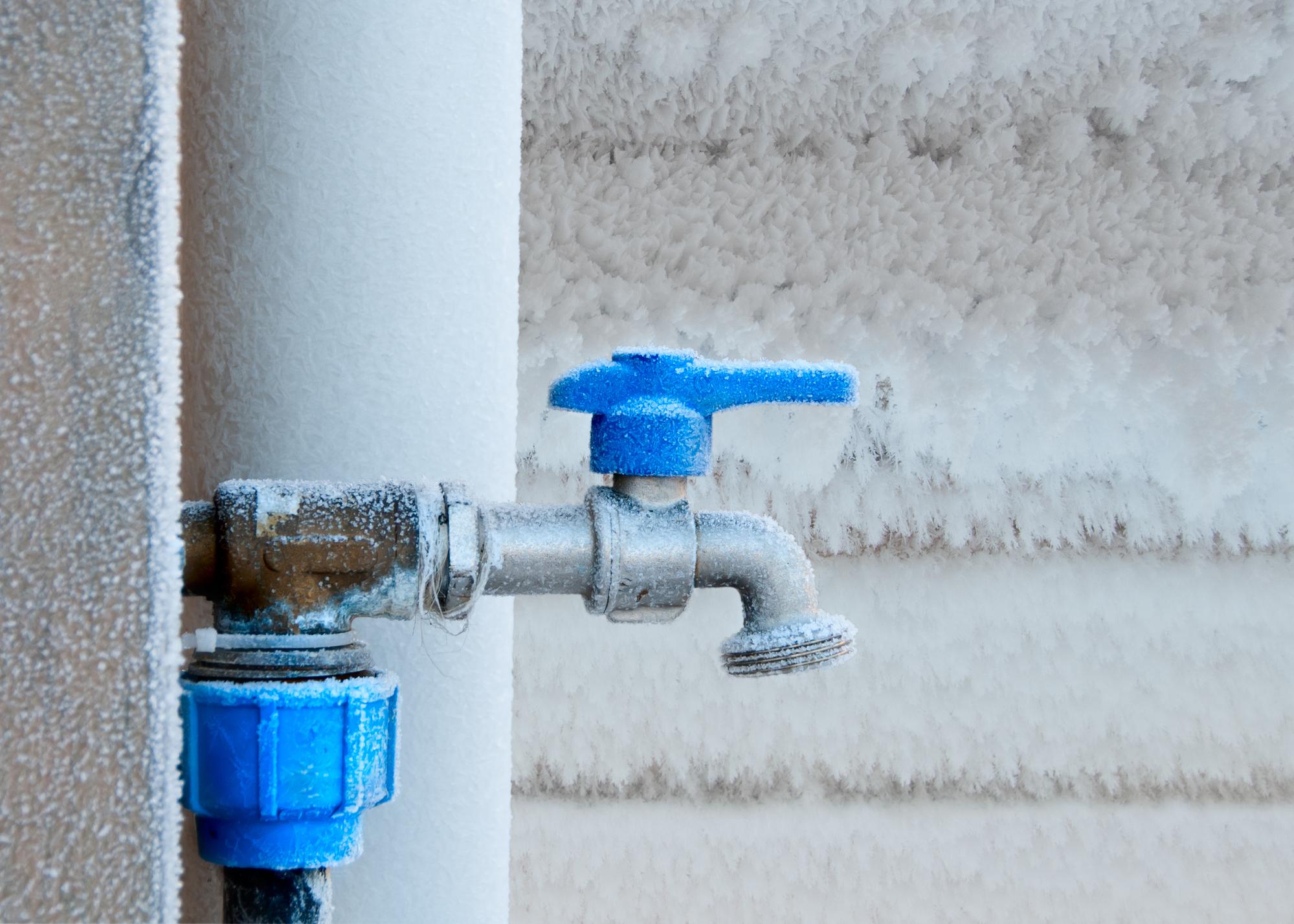 Voorkeur Buitenkranen en overige waterleidingen winterklaar maken CN78