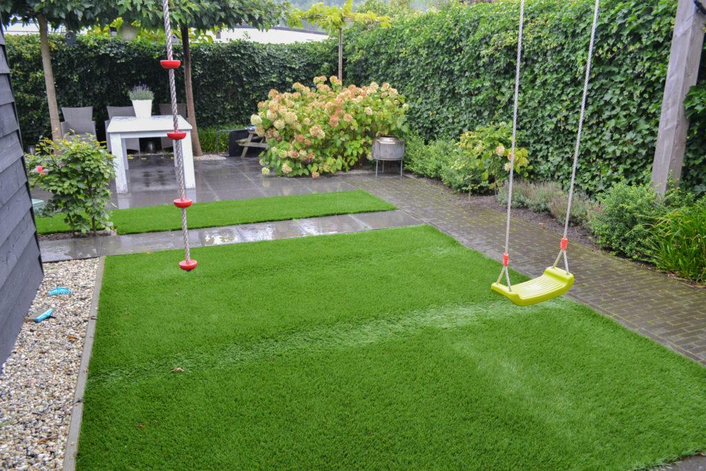 Grote Moderne Tuin : Tuinideen grote tuin. trendy grote tuin van vrijstaande villa in