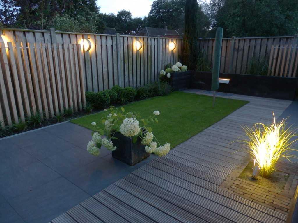 tuinverlichting idee