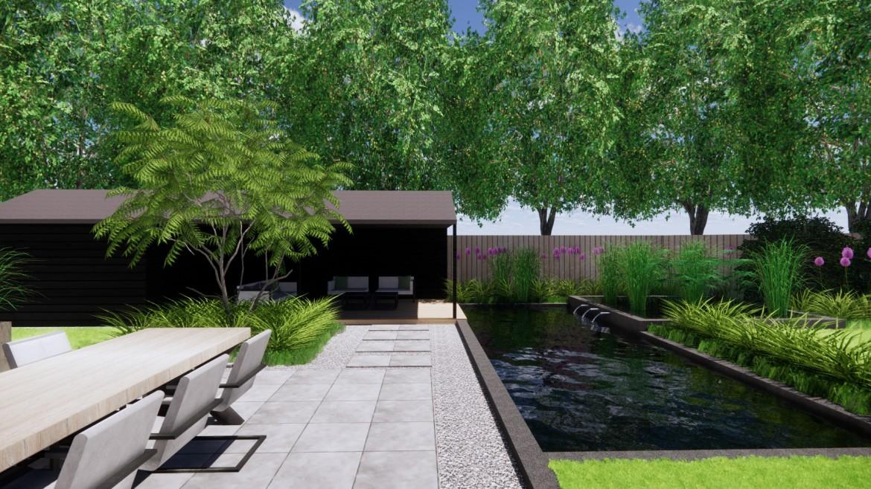 Onwijs Moderne tuin ontwerpen: met deze ideeën ontwerp je een strakke tuin ND-57