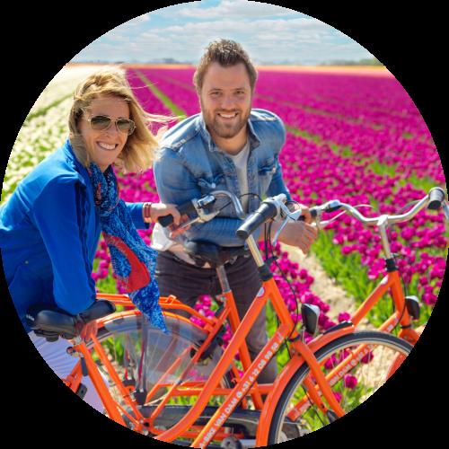 bike-ride-between-tulip-fields