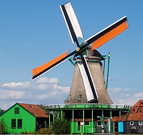 Windmills Village Zaanse Schans.