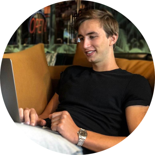 The Forex Affiliate Masterclass was started by Luuk Halman. Luuk is an online entrepreneur.